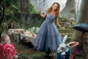 Picture borrowed from: http://parentpreviews.com/legacy-pics/alice-in-wonderland.jpg Copyright remains that of the original owner.