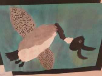 Broken Neck Duck - Children's Art