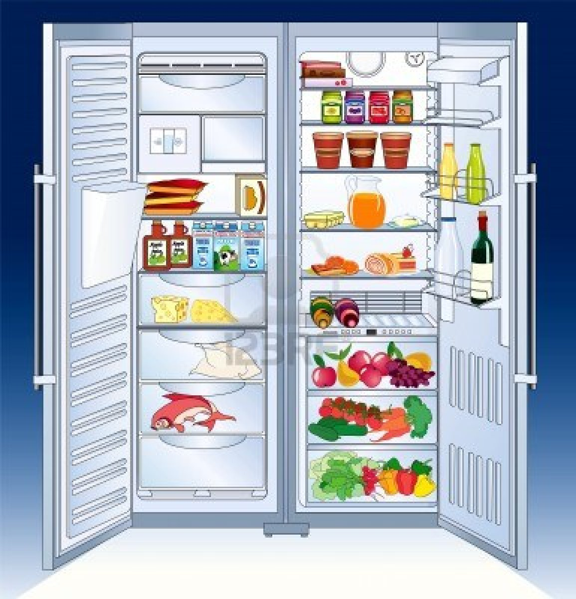 cleaning fridge clipart - photo #38