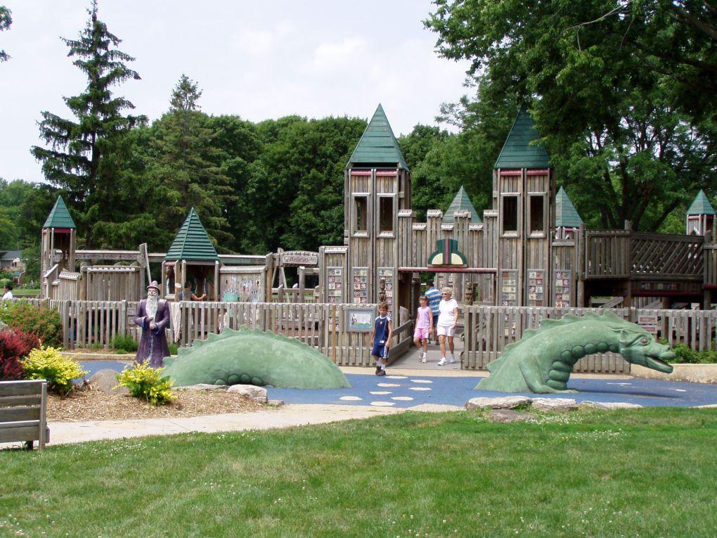 This is Dream Park in the city of Monona, WI. http://www.mymonona.com/pages/parks_recreation/parks_open_space/details.php/35/parks_open_space/winnequah%2Bpark%2B%2Bdream%2Bpark