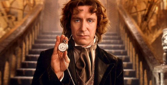 Picture borrowed from: http://comicbook.com/wp-content/uploads/2013/11/paul-mcgann-doctor-who.jpg Copyright remains that of the original owner.