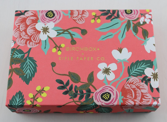 April 2015 Birchbox $10.00 monthly subscription