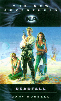 Image borrowed from: http://tardis.wikia.com/wiki/Deadfall_(novel)