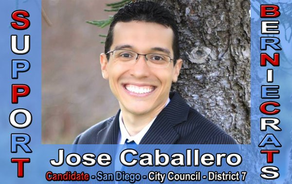 Caballero, Jose - City Council - San Diego - District 7