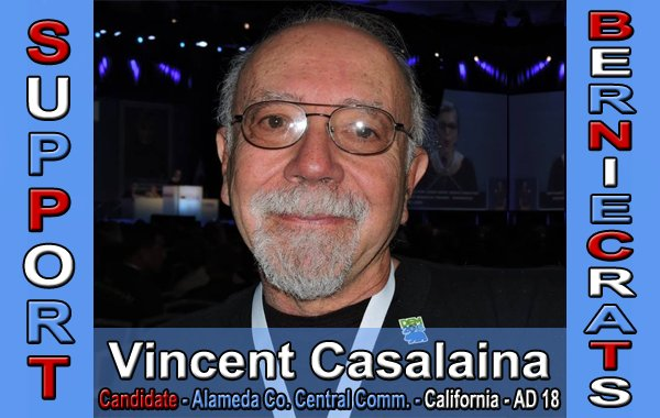 Casalaina, Vincent - Alameda County Central Commission - AD 18