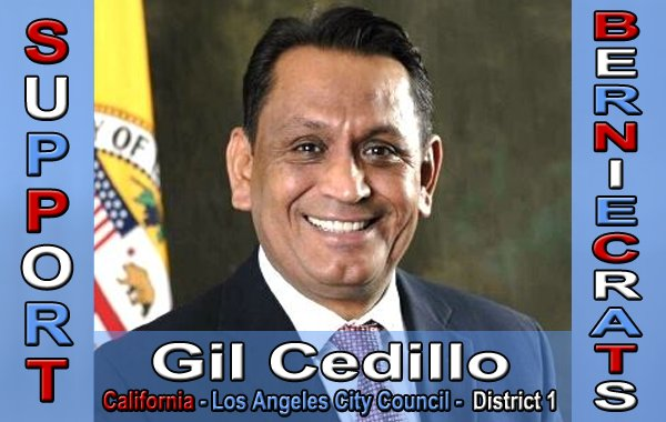 Cedillo, Gil - City Council - Los Angeles - District 1