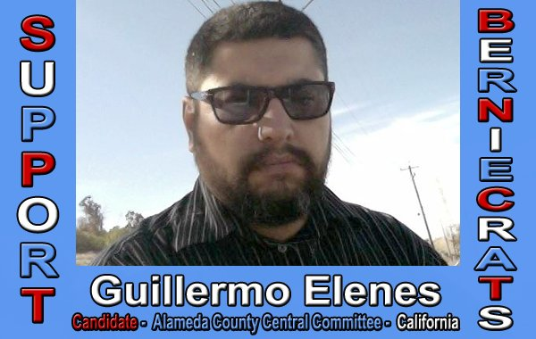 Elenes, Guillermo - Alameda County Central Committee
