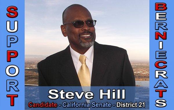 Hill, Steve - CA Senate - District 21