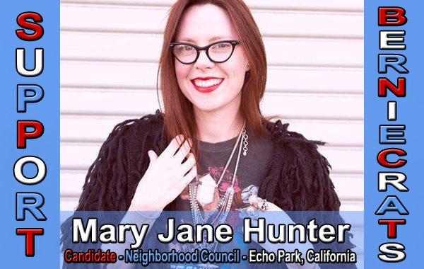 Hunter, Mary Jane - Neighborhood Council - Echo Park