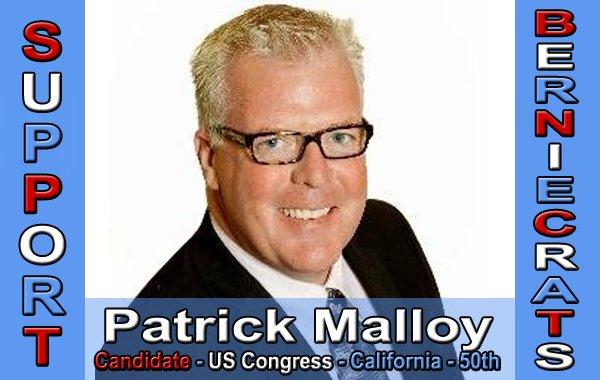 Malloy, Patrick - US Congress - 50th District