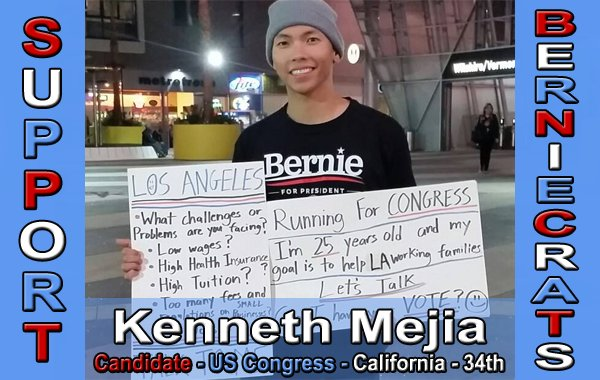 Mejia, Kenneth - US Congress - 34th District