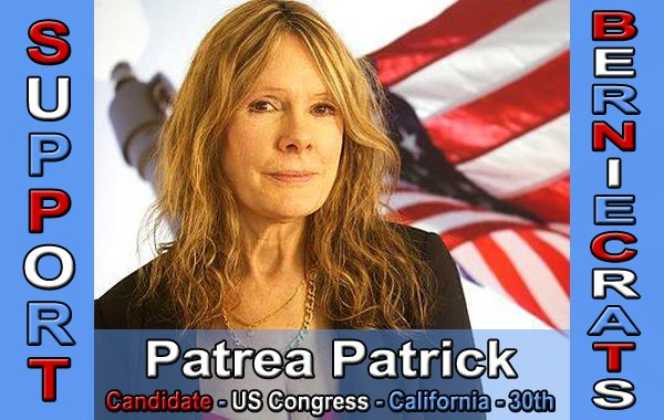Patrick, Patrea - US Congress - 30th District