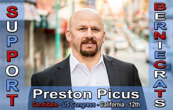 Picus, Preston - US Congress - 12th District