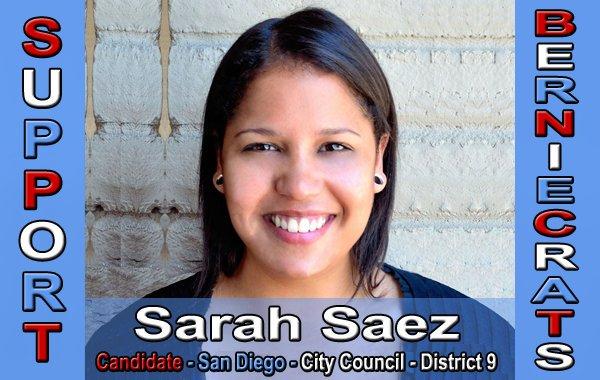 Saez, Sarah - City Council - San Diego - District 9