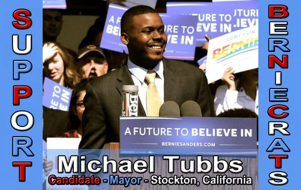 Tubbs, Michael - Mayor - Stockton