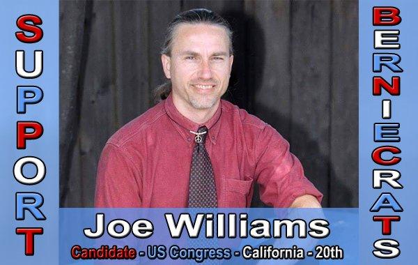Williams, Joe - US Congress - 20th District