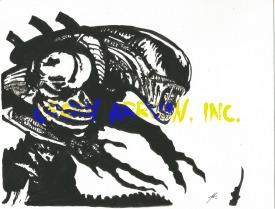 Alien - Watermark